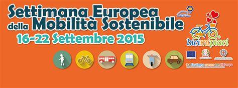 settimana europea della mobilit 224 sostenibile 2015 in sardegna