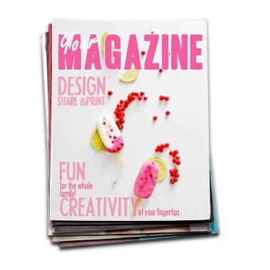 design own magazine sweet tidings