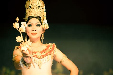 apsara flower dancing photos of cambodia and south east asia