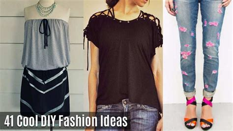 diy projects clothes cool diy fashion ideas