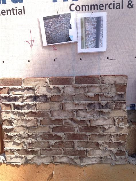 brick grand mocha mortar gray weeping job site