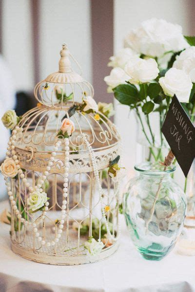 how to decorate a birdcage home decor 35 vintage wedding ideas with pearl details tulle
