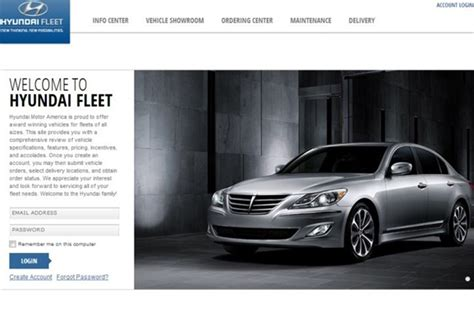 hyundai launches commercial fleet website top news