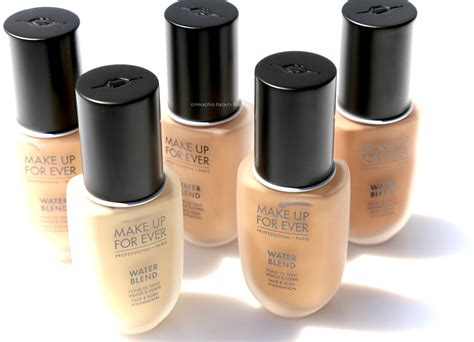 make up for water blend foundation