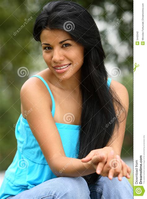 beautiful spanish girl stock photography image 3442042