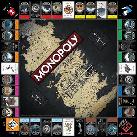 Collector House by 25 Days Of Holiday Gifts Game Of Thrones Monopoly
