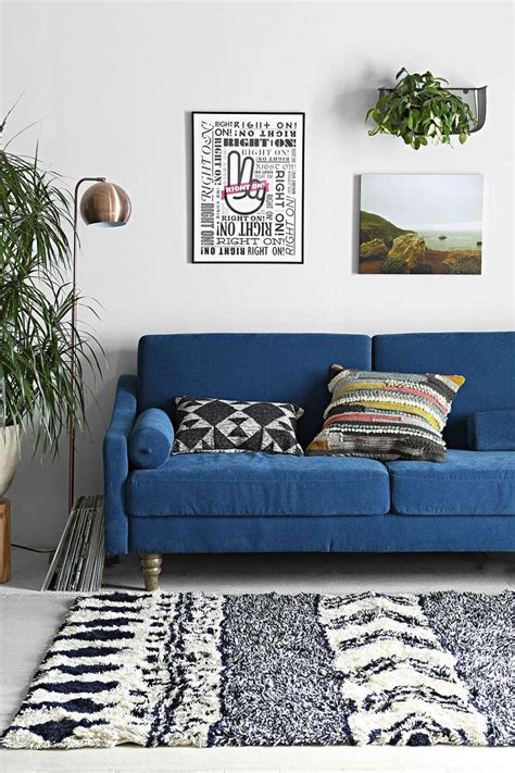 Blue Living Room Chair by Via Outfitters House