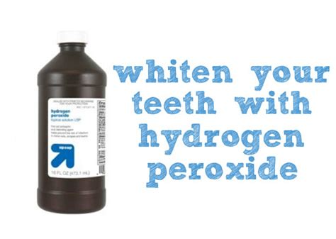 can i use hydrogen peroxide on my what is hydrogen peroxide teeth whitening how to whiten teeth