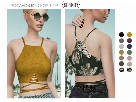 sims 4 cc crop tops sims 4 crop top tumblr