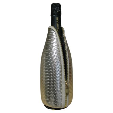 Printed Thermal Bottle woven eco leather thermal bottle holder freezerino l model