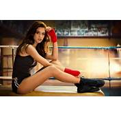 Brunettes Women Models Boxing Sara Sampaio  Wallpapers