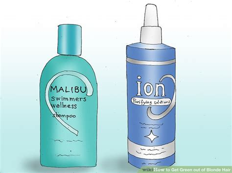3 easy ways to get green out of hair with pictures