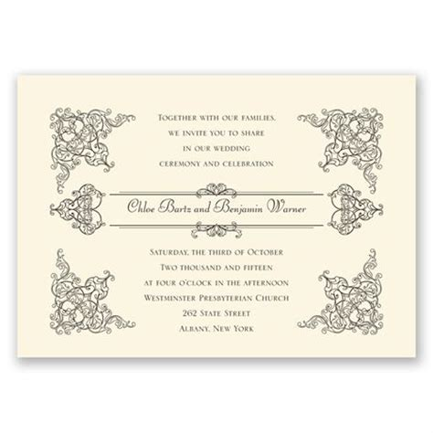 vintage invitations vintage vision invitation invitations by