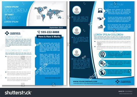 Vector Brochure Flyer Magazine Cover Poster Stock Vector 232439662 Shutterstock Magazine Brochure Template