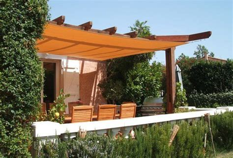 hybrid pergola with shade sail google search sails for