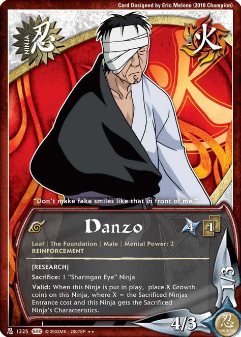 Foundation Shimura Danzo Shimura Tg Card By Puja39 On Deviantart