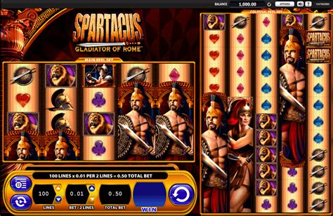 play spartacus  slot wms casino slots