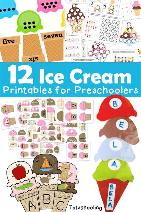 printable ice cream word games 12 ice cream printables for preschoolers totschooling