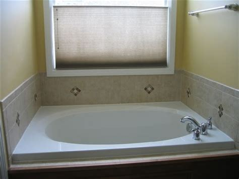 tiling around bathtub tile around a garden tub for the home pinterest