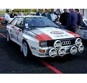 Ableitetno  Audi Quattro Rallye A1