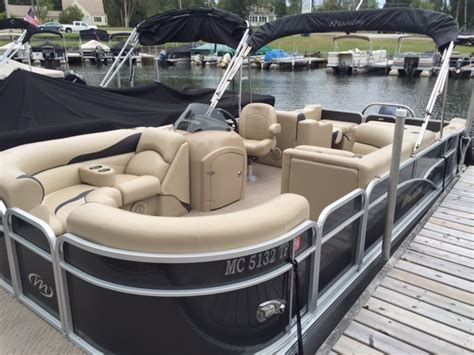 pontoon boats for sale peterborough for sale used 2013 manitou 23 oasis in fenton michigan