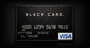 business credit card limits the new visa black card to compete with the amex centurion