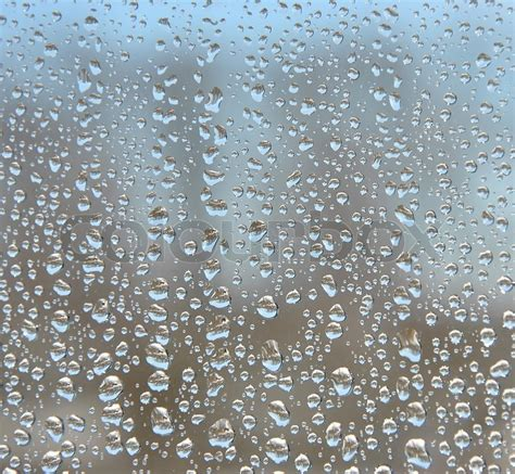 Water Drops On Window Glass Images