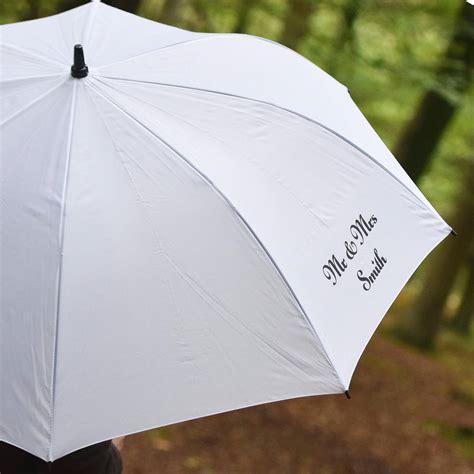 wedding umbrella personalised wedding umbrella by andrea fays
