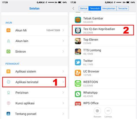cara hapus themes di xiaomi cara menghapus aplikasi di hp xiaomi semua tipe tentang