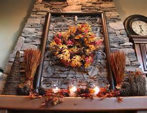 Decoration excellent rustic autumn fall decorations ideas with leaves