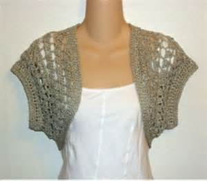 You have to see crochet green gold shrug bolero on craftsy
