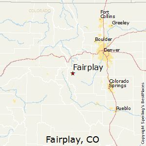 fairplay colorado map best places to live in fairplay colorado