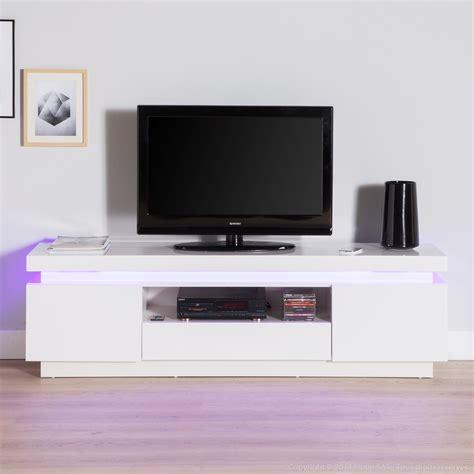 Tele 130 Cm by Meuble Tv Blanc Laqu 233 130 Cm Meuble Et D 233 Co