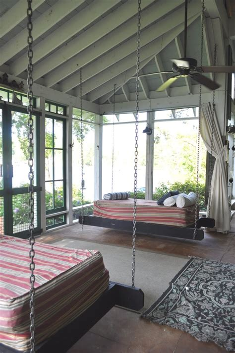 cozy sleeping porches   perfectly relaxing summer
