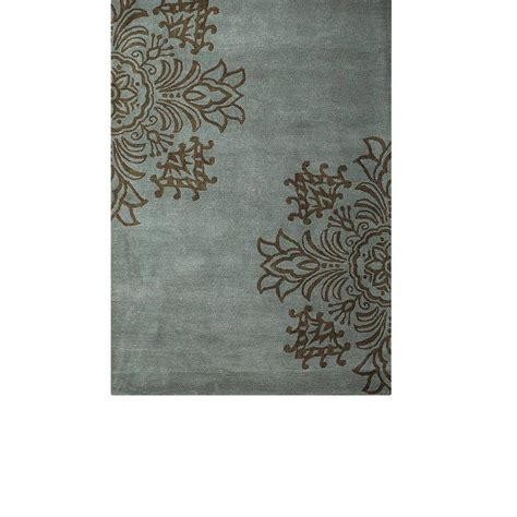 rugs home decorators collection home decorators collection tempo blue 3 ft 6 in x 5 ft