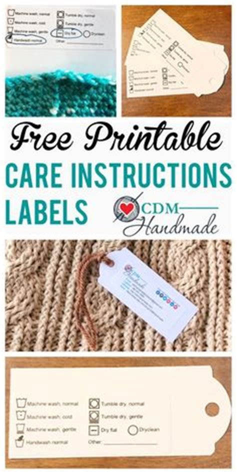 printable knitting labels free printable hand knit with love and hand crochet with