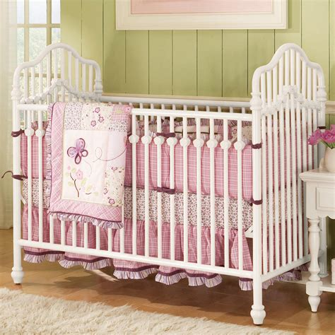 lea garden standard metal baby crib collection