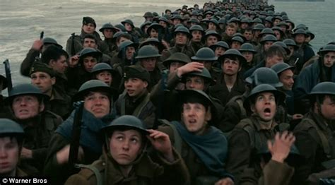 wwii film dunkirk chilling first trailer for christopher nolan s war epic