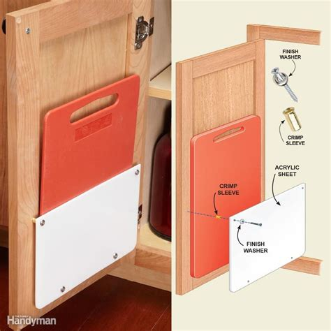 cutting kitchen cabinets 18 inspiring inside cabinet door storage ideas acrylic