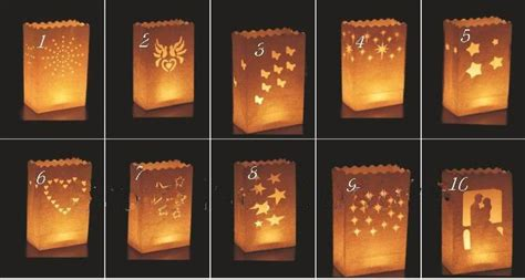 How To Make Paper Lanterns For Candles - wedding decoration diy manual paper lantern festival