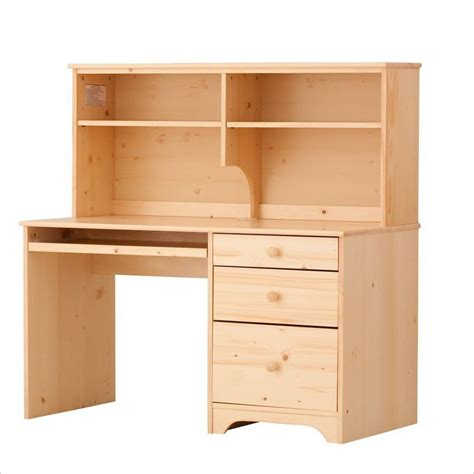 Pine Desk With Hutch Canwood Desk With Hutch In 791 792 5