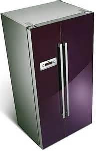 purple kitchen fridge appliances purple kitchens