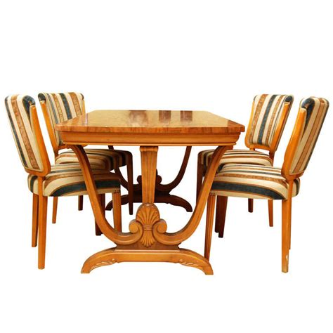 art deco dining room sets art deco dining set at 1stdibs