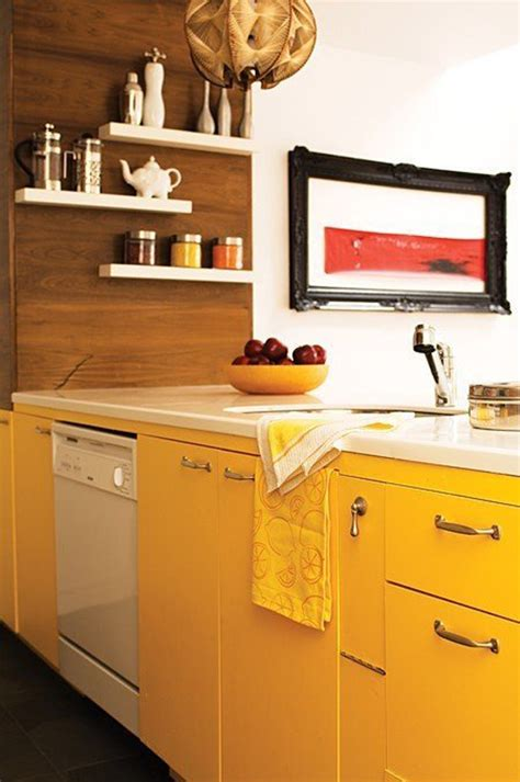 yellow kitchen colors top 10 rainbow colorful kitchens home design and interior