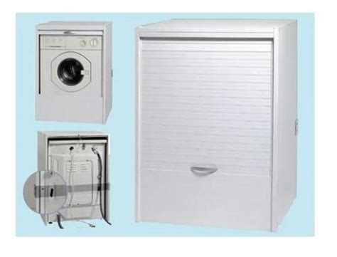 mobile esterno lavatrice arredobagno base coprilavatrice in resina per esterno