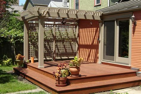 deck pergola ideas low deck designs on low deck ground level