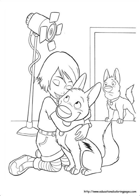 coloring pages of bolt the bolt coloring pages educational coloring pages