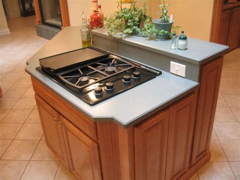 Kitchen Island With Stove Top by Island Kitchen With Stove Kitchen Island With Built In
