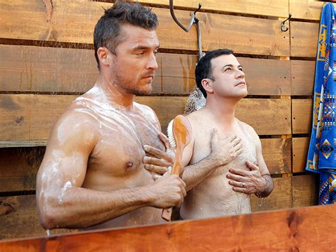 christopher guest the bachelor the bachelor jimmy kimmel visits chris soules in the