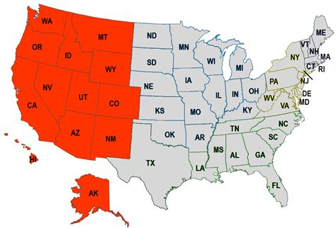411 United States Lookup Western United States